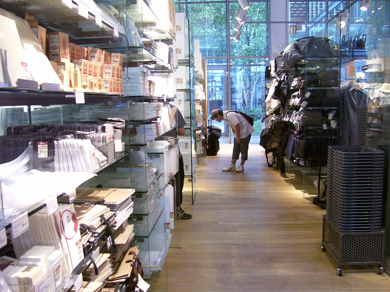 File Muji Nyc Inside Looking Wikimedia Commons