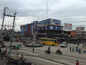 Birtamod - A view of Muktinath Chowk in Birtamod, Jhapa