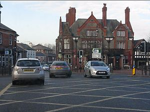 Listed buildings in Stockton Heath - Image: Mulberry Tree, Stockton Heath