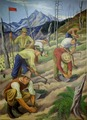 """Mural """"Replanting the Wasteland,"""" by Ernest Fiene at the Department of Interior Building, Washington, D.C LCCN2013634536.tif"""