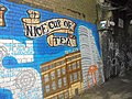 Mural on the towpath by Leeds railway station (14th March 2018) 002.jpg