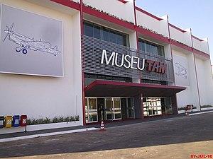 TAM Museum - Image: Museu Asas de um Sonho 2
