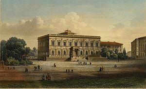 Museum der bildenden Künste - Museum in 1858