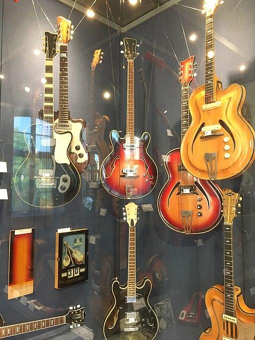 Musima Gitarren, Musikinstrumentenmuseum  Markneukirchen (Immaterielles Kulturerbe in Sachsen)