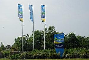Butlin's Pwllheli - Image: Mynedfa newydd Hafan y Môr New Entrance geograph.org.uk 463132