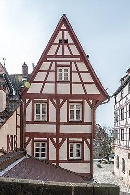 Nürnberg, Obere Schmiedgasse 58, Nordnseite-20160304-001