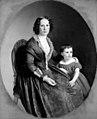 N.P. Holbech - Portræt af frøken Niedlich og fru Schmidt - KMS3337 - Statens Museum for Kunst.jpg