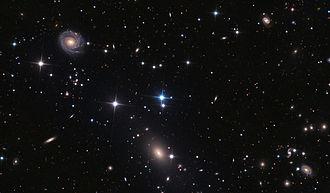 NGC 6085 - NGC 6085 (above, left) and NGC 6086 (below, center) Credit: Adam Block/Mount Lemmon SkyCenter/University of Arizona