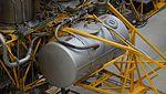 NAL VTOL Flying Test Bed fuel tank(left) at Kakamigahara Aerospace Science Museum November 2, 2014.jpg