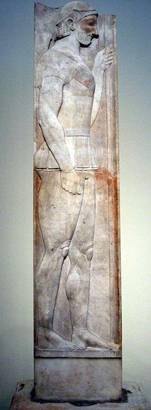 Stele Of Aristion Wikipedia