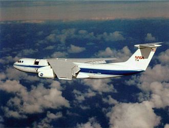 Kuiper Airborne Observatory - The KAO in flight.