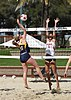 NCAA beach volleyball match at Stanford in 2017 (33391459426).jpg