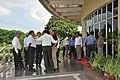 NCSM Dignitaries And Officers Waiting For Arun Goel - Science City - Kolkata 2018-09-23 4271.JPG
