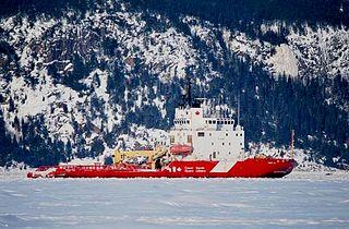 Canadian Coast Guard icebreaker