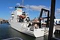 NOAAS Reuben Lasker (R 228) port quarter view.jpg
