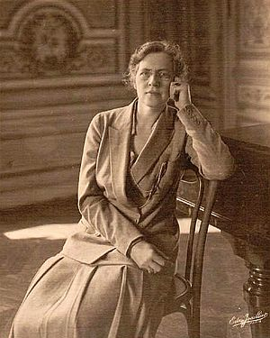 Aaron Copland - Nadia Boulanger in 1925