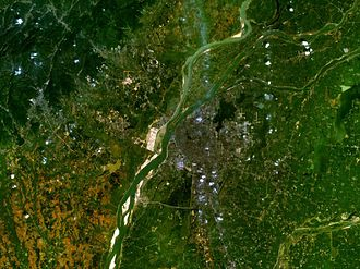 Nanchang - NanChang Satellite imagery 2005