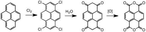 Synthesis of NTDA.
