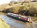 Narrow boat on the Grand Union Canal - geograph.org.uk - 664706.jpg