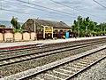 Narsipatnam road railway station board.jpg