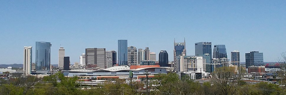 Nashville skyline from Fort Negley 2018
