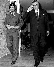 من تاريخ ليبيا : الجماهيرية العربية الليبية الشعبية الاشتراكية العظمى 175px-Nasser_Gaddafi_1969