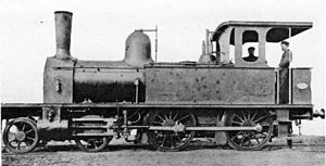 1876 in South Africa - Natal Railway 4-4-0T Perseverance
