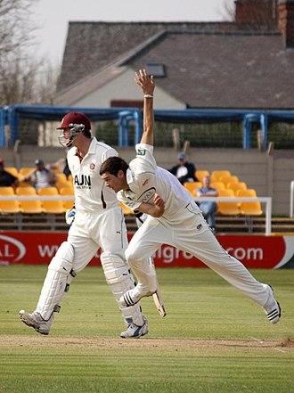 Nathan Buck - Image: Nathan Buck Leicestershire Cricketer
