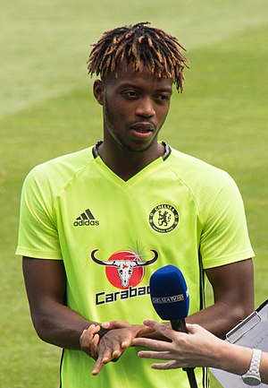 Nathaniel Chalobah - Chalobah training with Chelsea in 2016