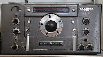 National HRO - National HRO-60 receiver (1952-1964)