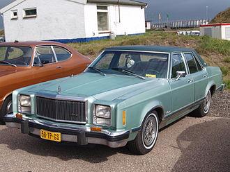 Ford Granada (North America) - 1979 Mercury Monarch