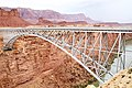 Navajo Bridge across the Colorado River (15363038780).jpg