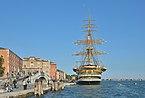 Nave scuola Amerigo Vespucci a Venezia museo navale.jpg