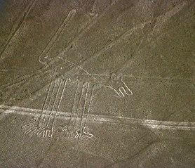 Nazca Dog geoglyph