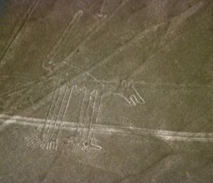 "Ica Region - Nazca Lines: ""Dog"""