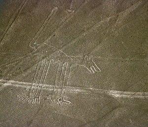 "Ica Region - Nazca Lines: ""Dog"""