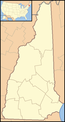 Pittsfield is located in New Hampshire