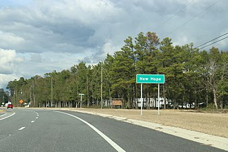 New Hope, Florida - Image: New Hope Florida Sign SR79