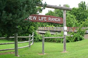 New Life Ranch in Colcord, Oklahoma