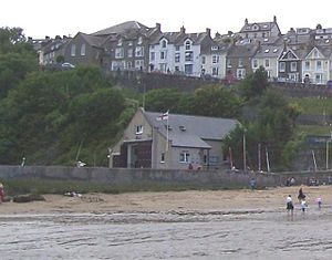 New Quay Lifeboat Station - Image: New Quay Lifeboat Station geograph.org.uk 40135