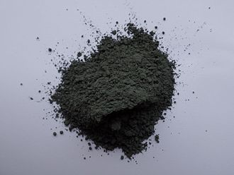 Nickel(III) oxide - Image: Nickel(III) oxide powder