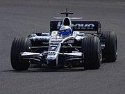 Nico Rosberg 2008 test