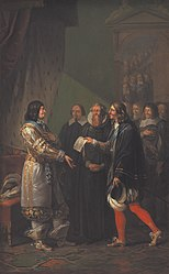 Nicolai Abildgaard: Absolute Monarchy Assigned to Frederik III in 1660