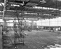 Nieuwe RAI gebouw moet over 4 weken klaar zijn, opnamen van de kleine hal, Bestanddeelnr 911-8892.jpg