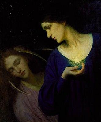 Mary Lizzie Macomber - Image: Night and Sleep 1902, Mary Macomber