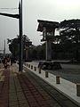 Nightlights in front of Toyouke Grand Shrine.jpg