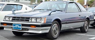 Nissan Leopard - Nissan Leopard TR-X Turbo SGX coupe