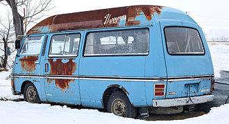 Nissan Caravan - Nissan Homy (E20)