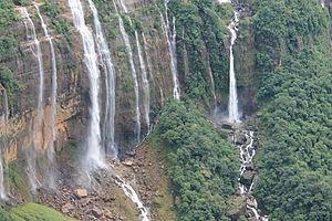 Cherrapunji - Seven Sisters' falls