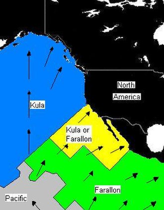 Kula Plate - Plate distribution 64–74 Ma